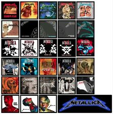 METALLICA 28 pack record/cd singles cover artwork discography MAGNETS lot