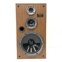 One - Technics SB-CR77 3-Way System Woodgrain 80's Vntg. Speaker Great Sound!