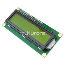 1602 16x2 Character LCD Display Module HD44780 Controller Yellow Blacklight