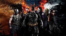 """K066 The Dark Knight Rises Batman Joker Movie Wall 40"""" x 24"""" Poster"""
