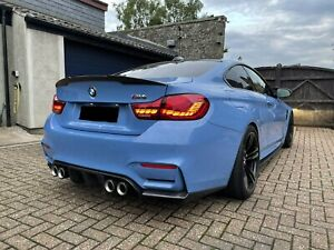 BMW M4 F82 F83 OLED CS GTS Style Rear Tail Lights Lamps 4 Series Red