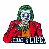 Joker Enamel Pin The Joker Joaquin 2019 Oscar Movie This Is Life Pin