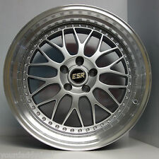 ESR SR01 18x9.5 5x114.3 RIMS VIP FIT LEXUS SC300 SC400 GS300 GS400 GS430 SC300