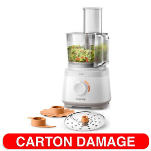 Philips Daily 700W 1.5L Electric Food Processor/Chopper/ Slicer/ Grater White