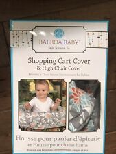 Balboa Baby Shopping Cart Cover And High Chair Cover. NEW IN BOX