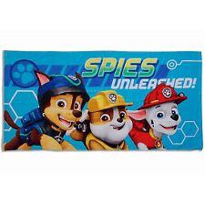 Paw Patrol Spy Beach Bath Cotton Towel Kids Childrens Boys 70 x 140cm