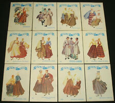 BOOK SET 12 volumes of Latvian Folk Costume guide embroidery weaving pattern art