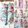 Newborn Baby Boy/Girl Soft Swaddle Muslin Blanket Cotton Wrap Swaddling Blanket