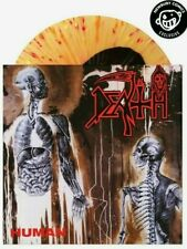 DEATH Human LP Splatter Vinyl LTD/300, carcass obituary slayer nile sepultura