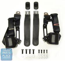 1967-72 El Camino 3 Point Retractable Front Seat Belts - Starburst - SB19E1000