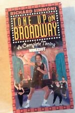 Richard Simmons Fitness Workout VHS Tape Tone Up on Broadway Exercise New