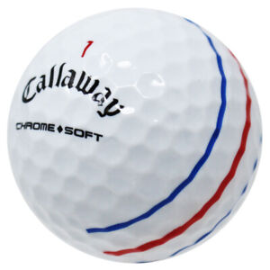 120 Callaway Chrome Soft Triple Track AAAA/Near Mint Recycled Golf Balls