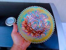 Northwood Marigold Good Luck Basketweave Back Plate - Extreme Color