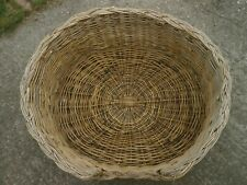 Vintage cane dog basket