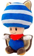 Super Mario Fly Squirrel Toad Blue Plush 20 cm. Plüschfigu?r TOGETHER