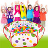 Foldable Kids Ocean Pool Ball Game Children Pit Play Toy Tent Baby Safe Playpen