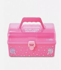 Justice Just Shine Unicorn You Are Magic Pink Makeup Organizer Case New with Tag