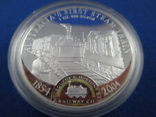2004 1oz .999 Silver Proof Coin Australia's First Steam Train  SUPERB!!!