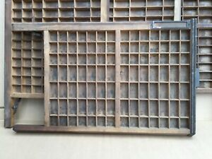 Vintage Hamilton Ludlow Printer's Drawer/Tray/Shadow Box