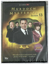 Murdoch Mysteries Complete Season 13 (DVD, 4-Disc) Free Shipping New & Sealed US