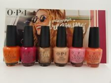 OPI ~*California Dreaming* Summer 2017 Collection~ 6 kinds 1 set!!!!