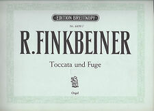 Finkbeiner * Toccata und Fuge  * Orgel Noten