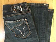 Vigoss Studio Brand Jeans Boot cut Women's Size 29 Dark Wash EUC