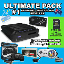 ULTIMATE PACK - RetroN 5 Hyperkin GBA SNES NES SEGA GAME 1YR AUSTRALIAN WARRANTY