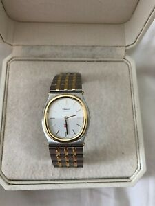 Chopard Monte Carlo 18K Gold and Stainless Steel Gentleman's Watch