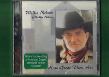 WILLIE NELSON - HOW GREAT THOU ART CD NUOVO SIGILLATO
