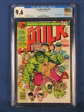 MARVEL COMICS CGC 9.6 THE INCREDIBLE HULK 200 6/76 WHITE PAGES
