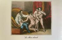 Paris Biedermeier Orgie Petting Penis Vagina Sex Erotik Satisfaction Orgy Print