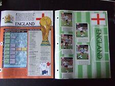 ORBIS 1990 WORLD CUP - COMPLETE ENGLAND SET