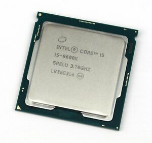 Intel Core i5-9600K 9th Gen 4.60GHz SRELU Processor CPU Only NEW