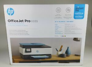 HP OfficeJet Pro 8035 All-in-One Wireless Printer Works with Alexa - Oasis