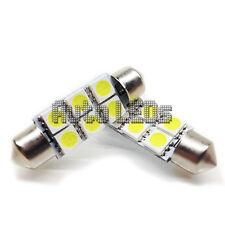 1 bianco SMD LED 42 mm Festone Lampadina LED 12 V interni