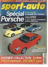 SPORT AUTO 1997 N° 429 SPECIAL PORSCHE F1 BELGIQUE ITALIE GOLF VR5 GOLF GTI