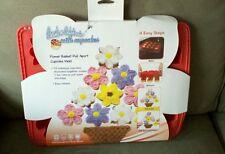 Create N Celebrate Flower Basket Pull Apart Silicone Cupcake Baking Pan
