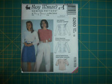 McCall's 5260 Size 16 Misses' Blouse