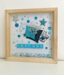 Beautiful deep box frame gift for FRIENDS. would make a lovely thank you gift