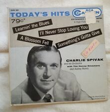 CHARLIE SPIVAK AND HIS ORCHESTRA 45 EP Today's Hits Camden RCA CAE 301