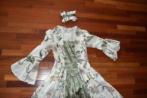 Victorian Choice Steampunk Women Gown Dress Marie Antoinette Sz S Civil War