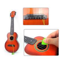 Mini Gitarre Kindergitarre Kinder Pädagogische Spielzeuggitarre 6 Stahl Saiten
