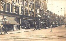 Rutland VT Wilson Clothing Store Fronts VT Fair Poster RPPC Postcard
