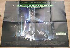 Size does matter ! GODZILLA(1998) Original movie poster