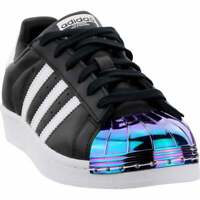 adidas Superstar Mt Womens  Sneakers Shoes Casual   - Black - Size 6.5 B