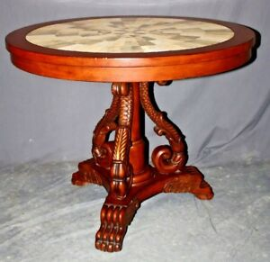 French Empire Style Gueridon - Center Pedestal Table