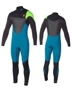 Jobe Yukon 4/3 Teal Steamer Men's Semi-Dry Wet Suit Fullsuit Surfing