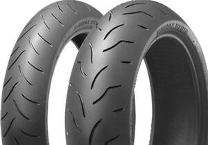 Bridgestone BT 016 Pro 160/60 ZR17 69W + 120/60 ZR17 55W Satz Set Reifen Paar
