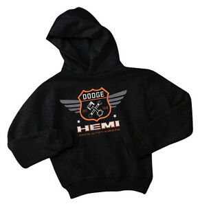 Dodge sweatshirt for kids youth ram hemi hoodie boys 2 4 6 8 10 12 black